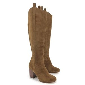 Via Spiga Babe Tall Knee High Suede Boots 6.5